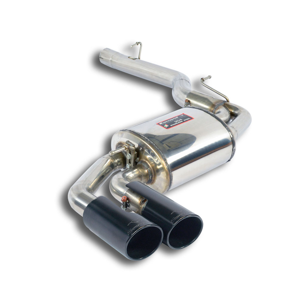 "BMW - BMW F26 X4 30d xDrive (258 Hp) 2014 -> Rear exhaust OO80 ""Black"", performance exhaust systems"