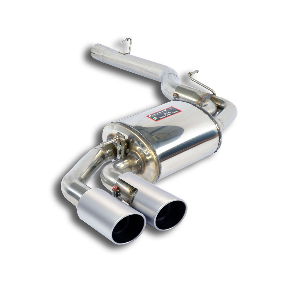 "BMW - BMW F26 X4 30d xDrive (258 Hp) 2014 -> Rear exhaust OO90 ""Satin"", performance exhaust systems"