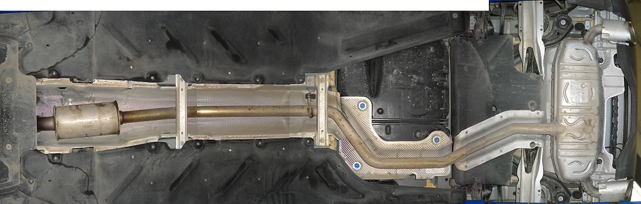 Stock exhaust Mercedes W176 A200 1.6T