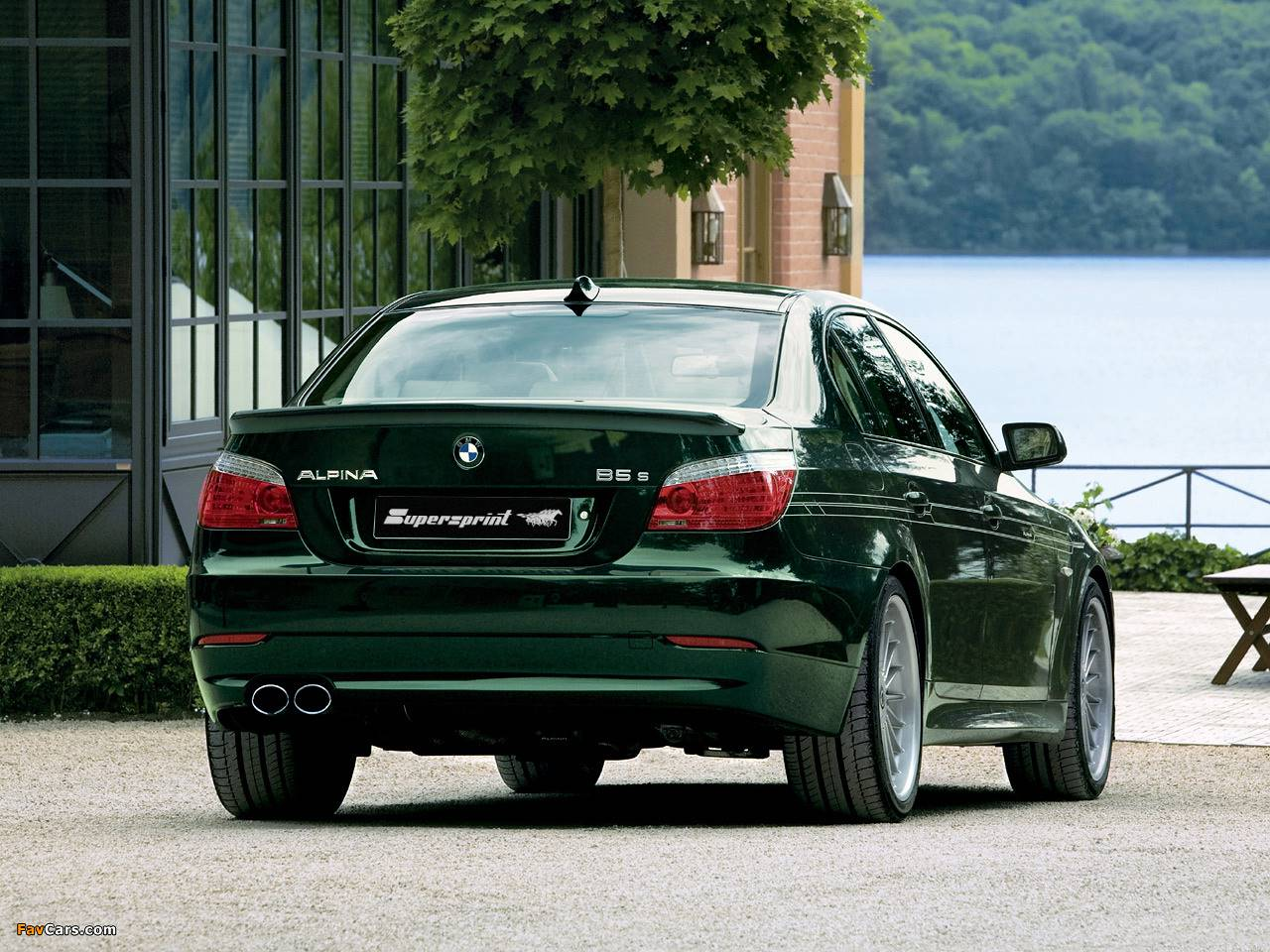 Alpina BMW - ALPINA B5 S (E60 / E61 Sedan / Touring) 4.4i V8 (530 Hp) 2007 -> 2010  (with valve)