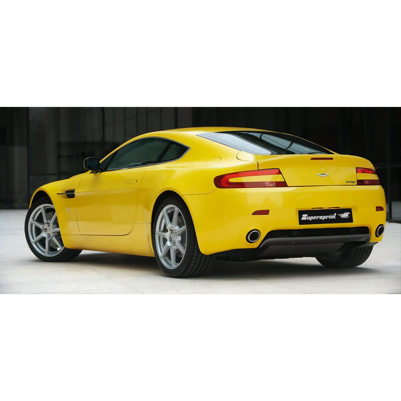 Sportauspuff Anlage Für Aston Martin Vantage Aston Martin Vantage Coupè Cabrio V8 4 3i 06 08 Aston Martin Abgassysteme Auspuffanlagen