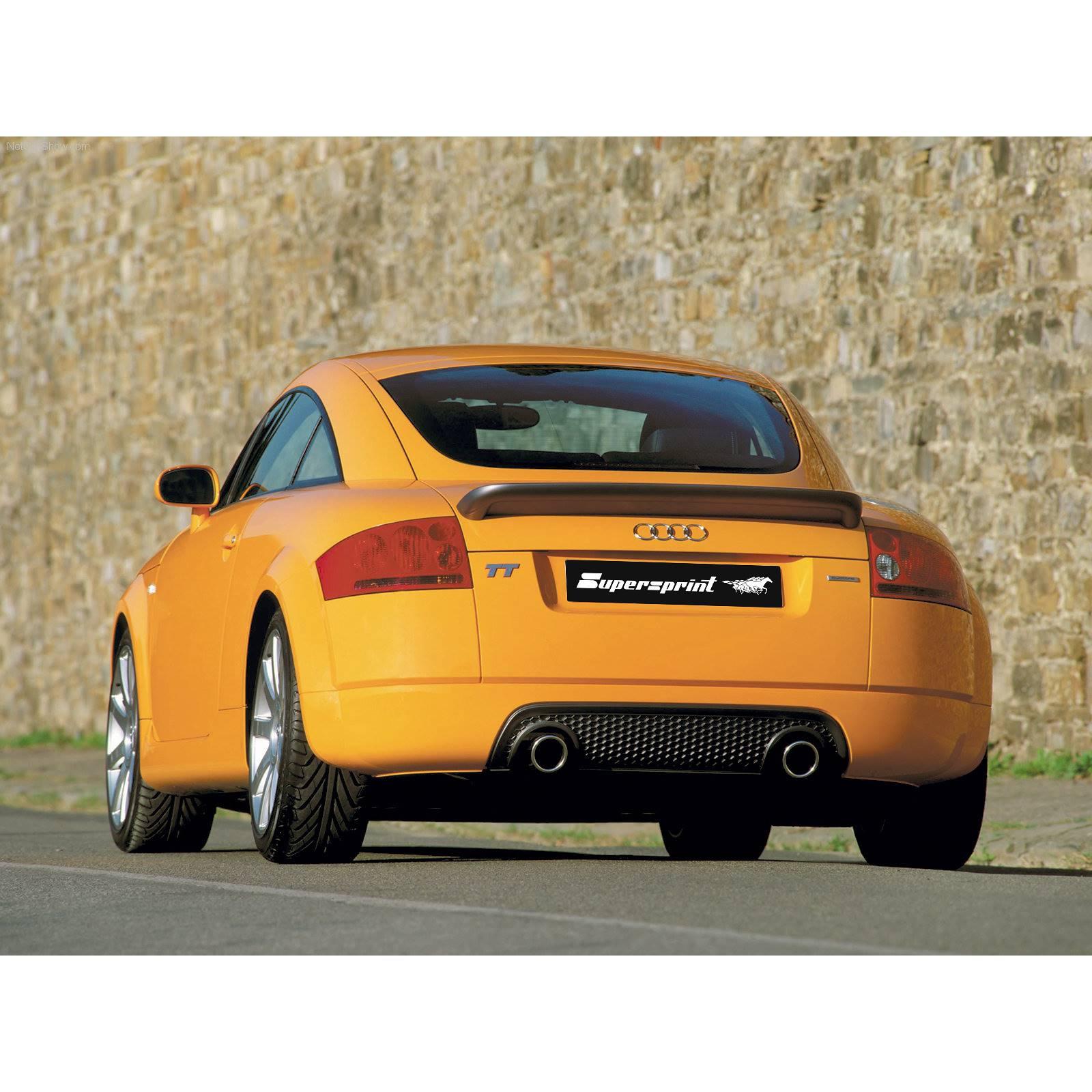 Supersprint udstødning til Audi TT Mk1 Quattro Coupè
