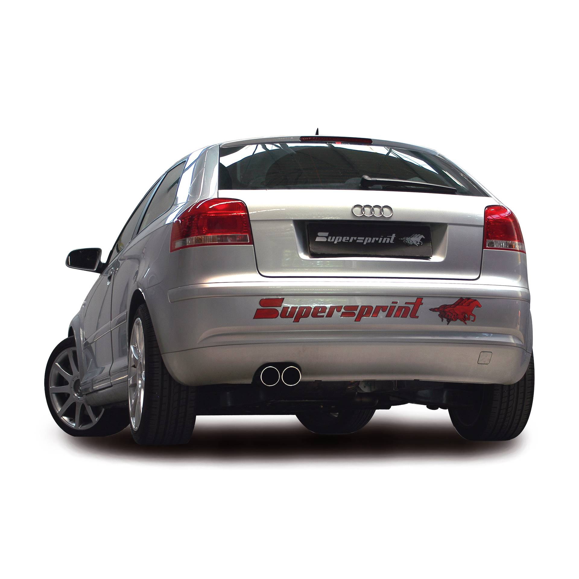 audi a3 8p 2 0 tdi 170 hp 39 06 39 13 audi exhaust systems. Black Bedroom Furniture Sets. Home Design Ideas