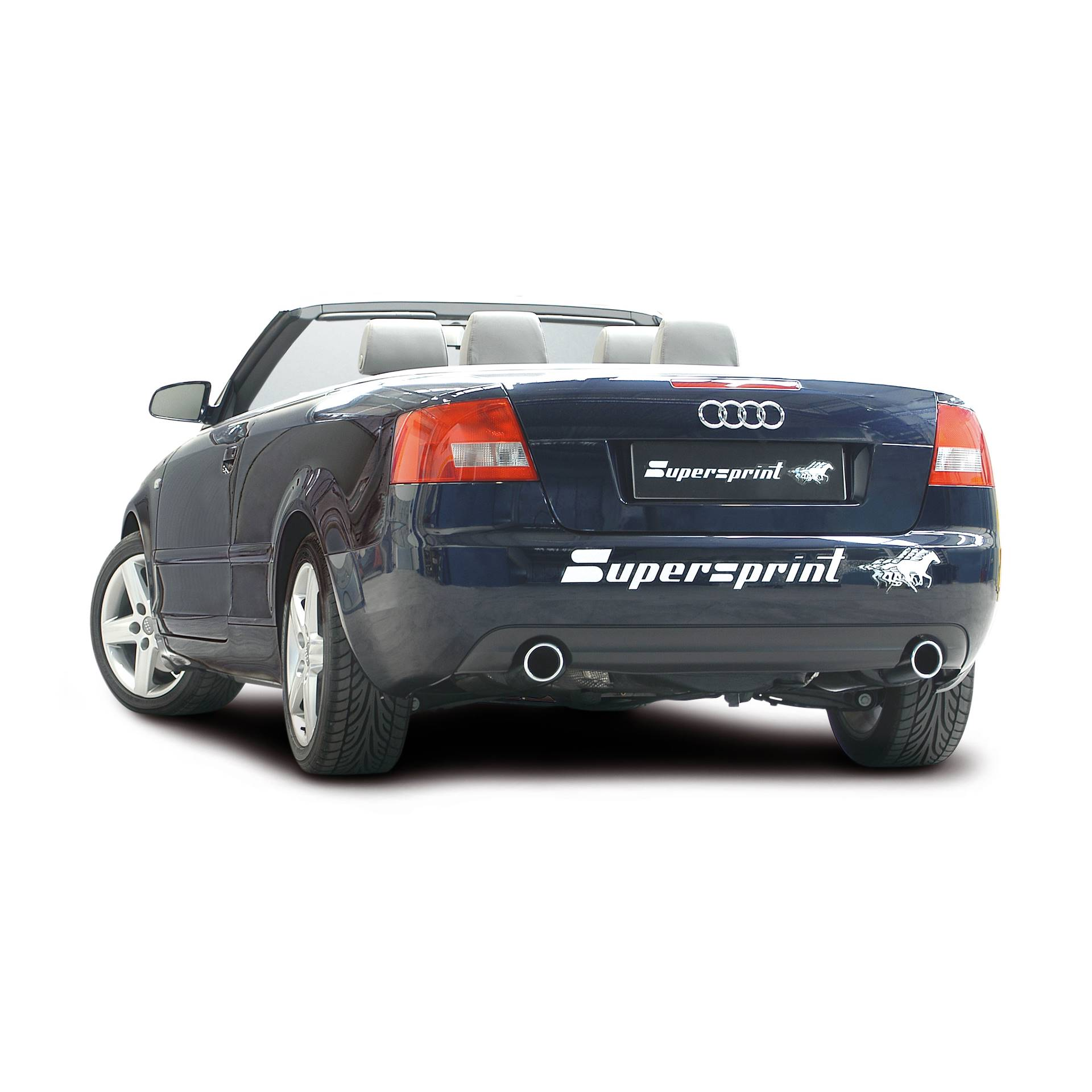 Audi A4 Cabrio 24i V6 170 Hp 03 06 Audi Exhaust Systems