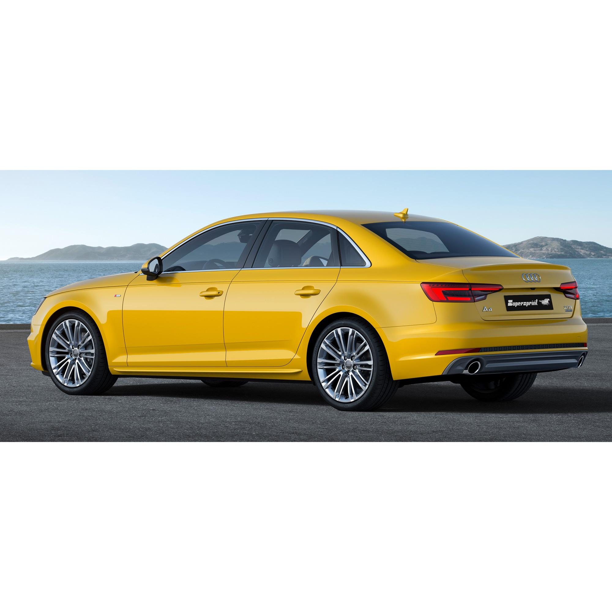 Supersprint udstødning til Audi A4 B9