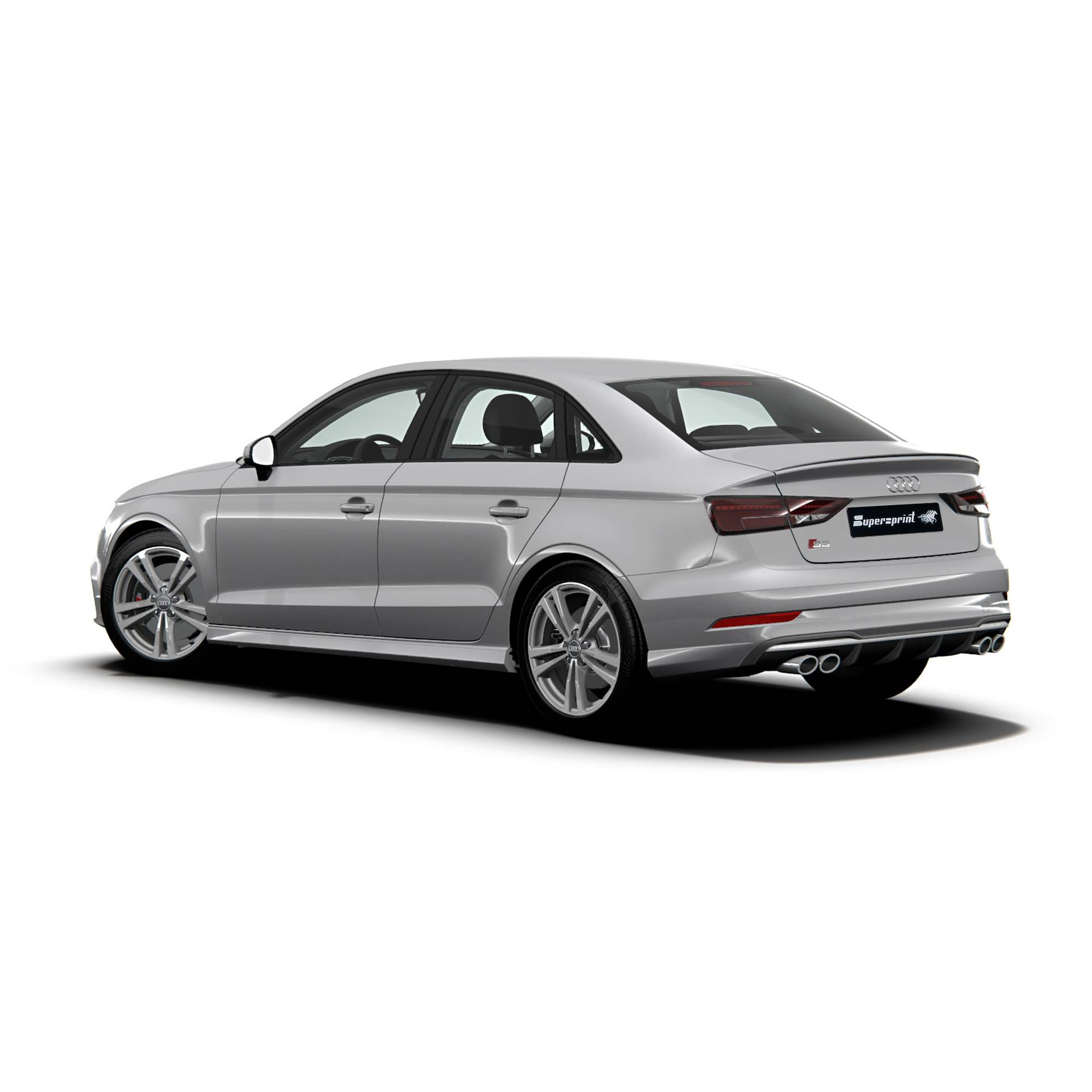 Performance Sport Exhaust For Audi S3 8v Sedan Quattro With Valves Audi S3 8v Sedan Quattro 2 0 Tfsi 300 Hp Models With Gpf 2019 Audi S Rs Exhaust Systems