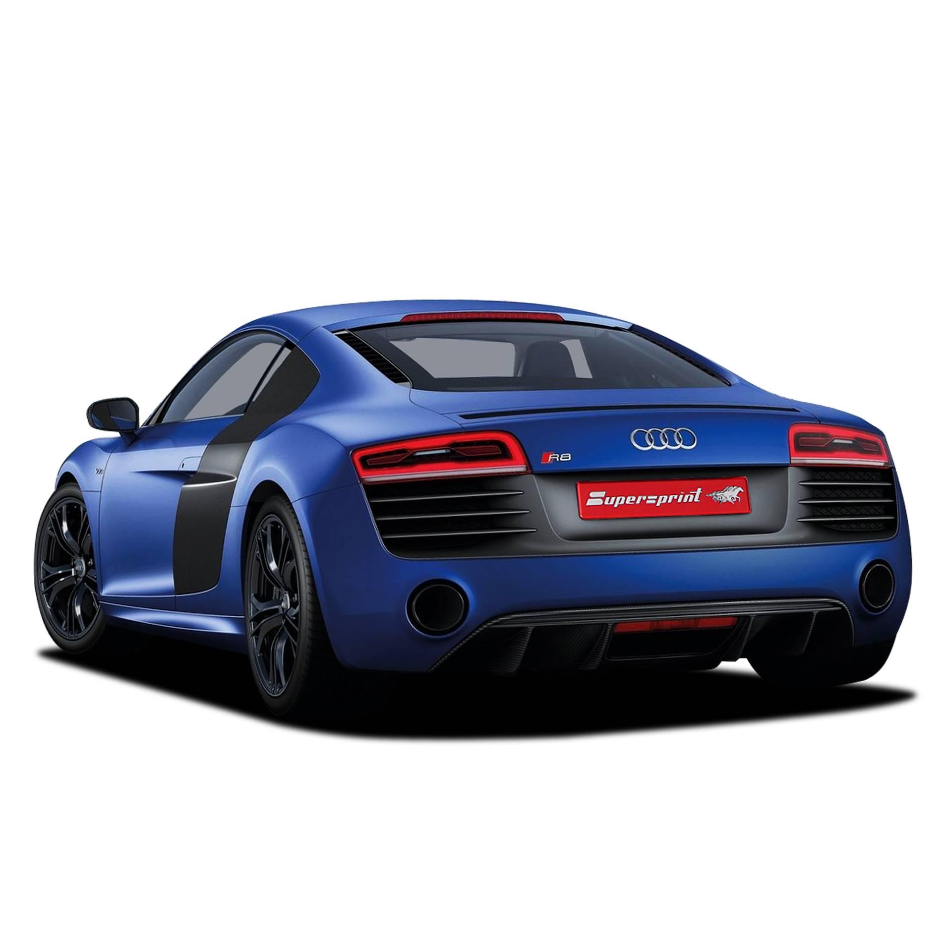 Audi R8 Coupe Audi Sport Edition: Performance Sport Exhaust For AUDI R8 Plus, AUDI R8 Plus