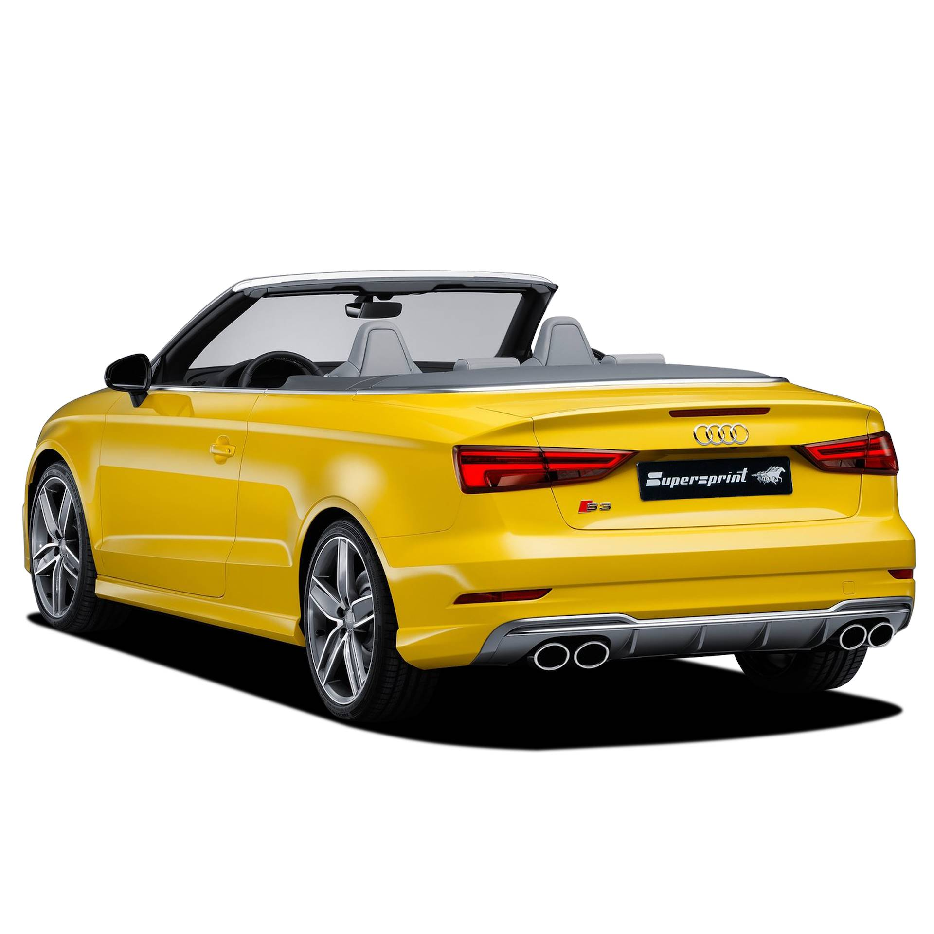audi s3 8v cabrio quattro 2 0 tfsi 310 hp 2016 audi s rs exhaust systems. Black Bedroom Furniture Sets. Home Design Ideas