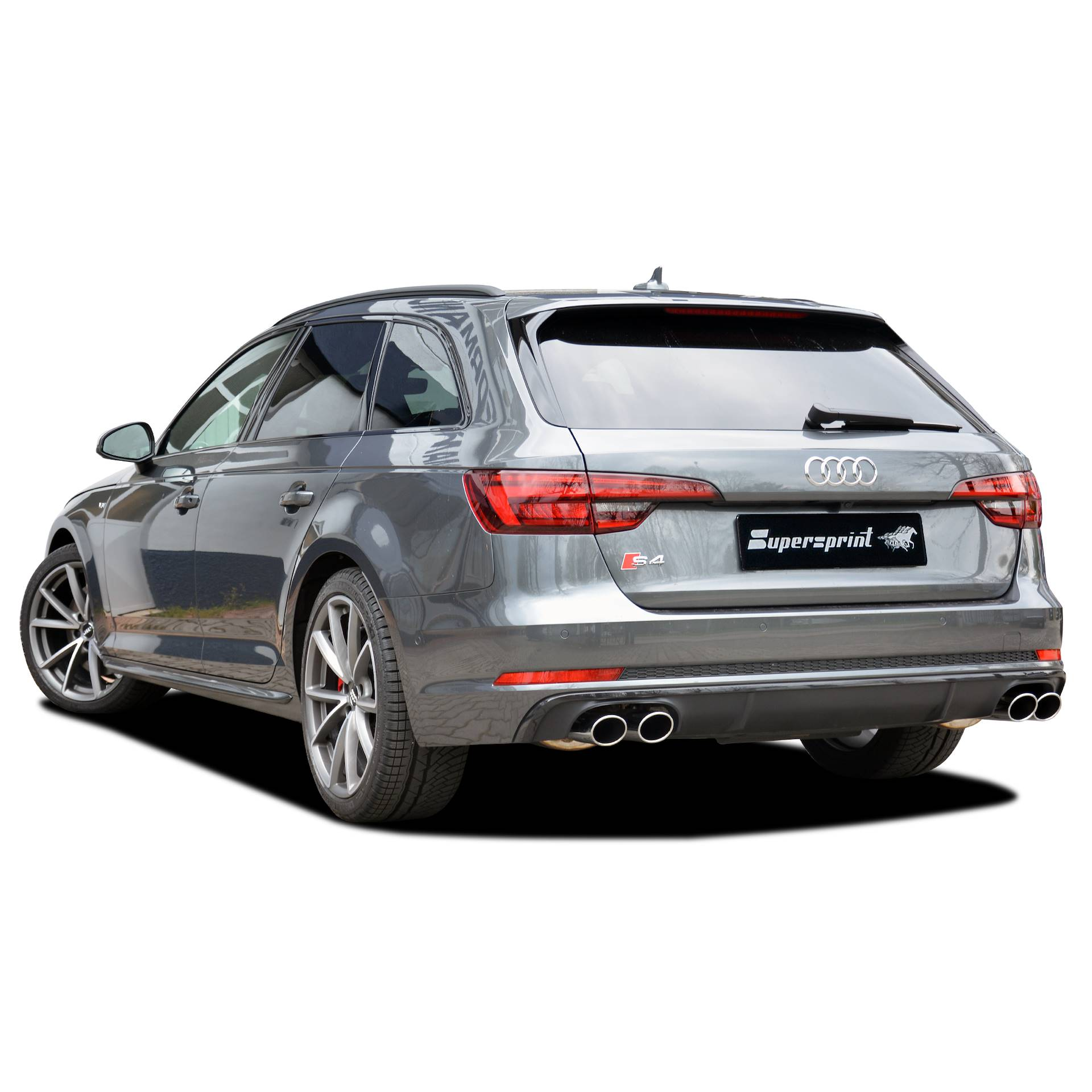 New Supersprint Exhaust With Valves For AUDI S4 B9 Quattro