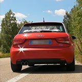 AUDI A1 1.4 TFSi (122 Hp) 2010 -> Supersprint Catback exhaust system