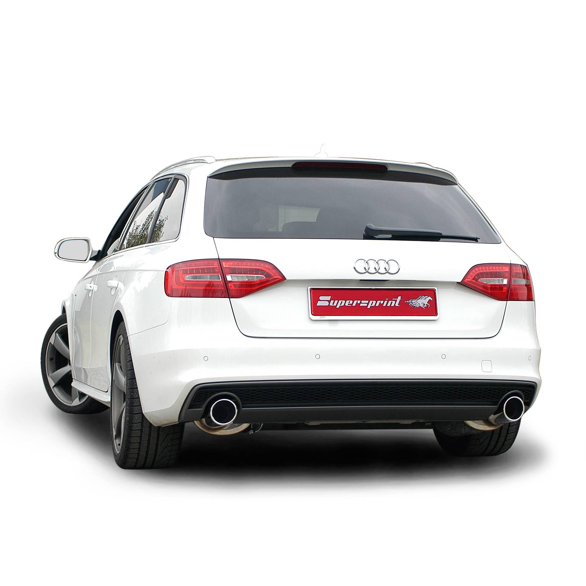 AUDI A5 Coupè/Cabrio 2 0 TFSI -> Supersprint Cat-back system