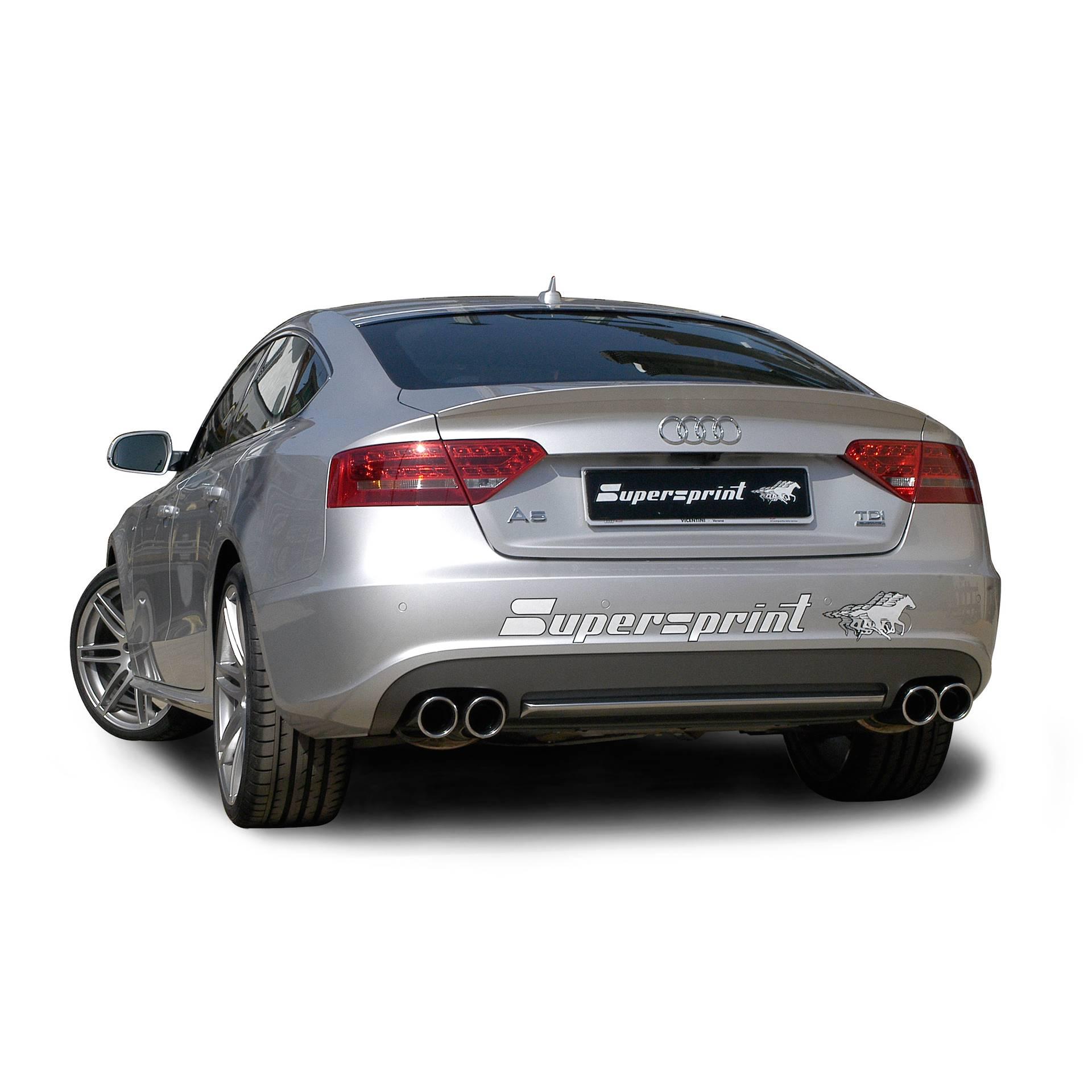 audi a5 sportback quattro 2 0 tdi 170 177 190 hp 39 09 audi exhaust systems. Black Bedroom Furniture Sets. Home Design Ideas