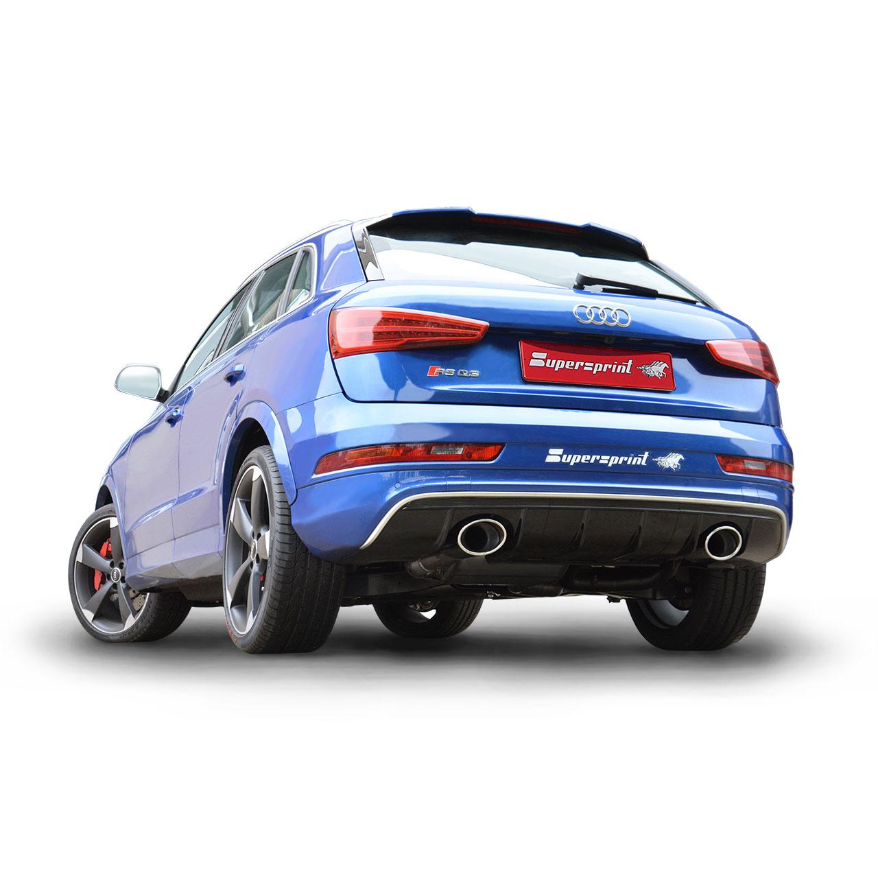 Neue Sportauspuff F 252 R Audi Rs Q3 Mit Klappe Und Dual Ausg 228 Ngen 2015 Oktober 16