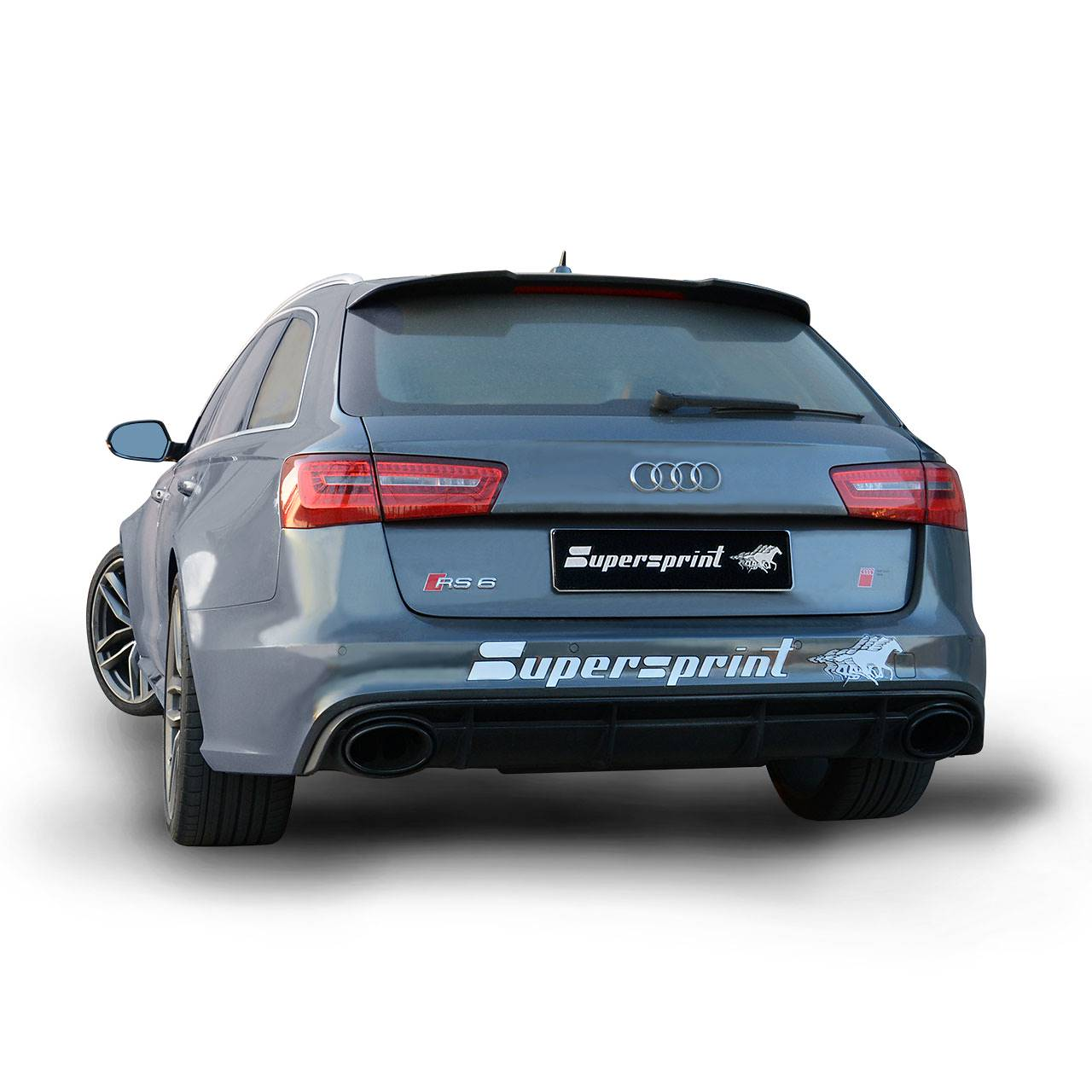Performance Sport Exhaust For Audi RS6 4G With Valves