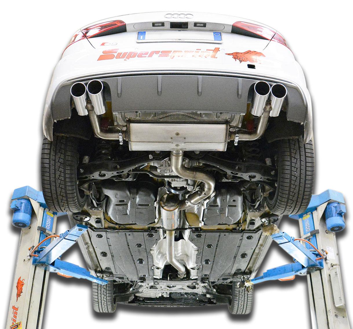 Audi S3 8v 8va 2013 Gt Supersprint Auspuffanlage In K 252 Rze Verf 252 Gbar 2014 Januar 23