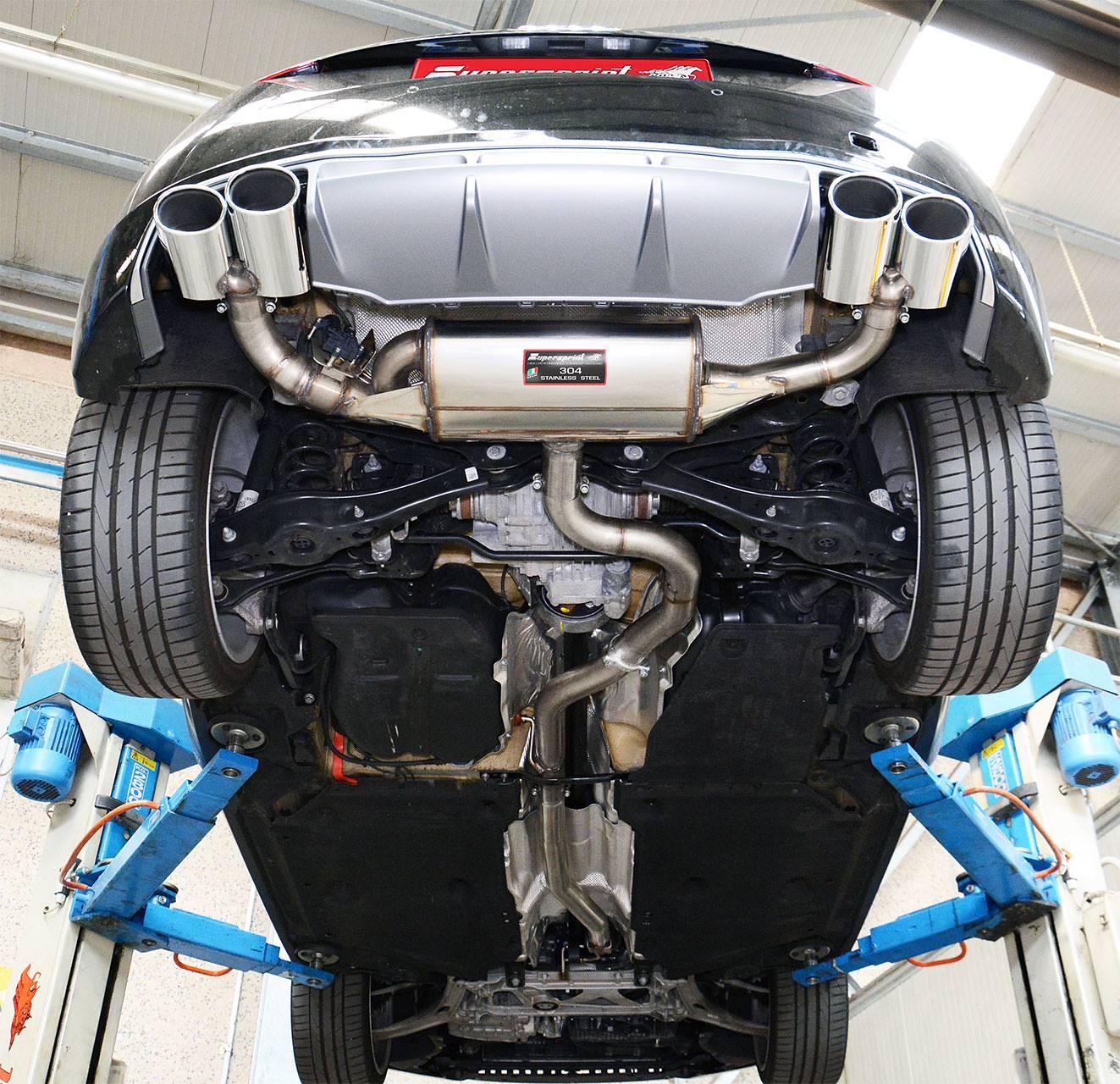 Audi Tt Mk Quattro Cat Back Exhaust