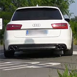 "Sortie kit Supersprint ""S6-look"" pour Audi A6 3.0 biTDI"