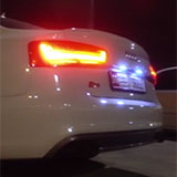 Audi S6 C7 sound with Supersprint full exhaust system
