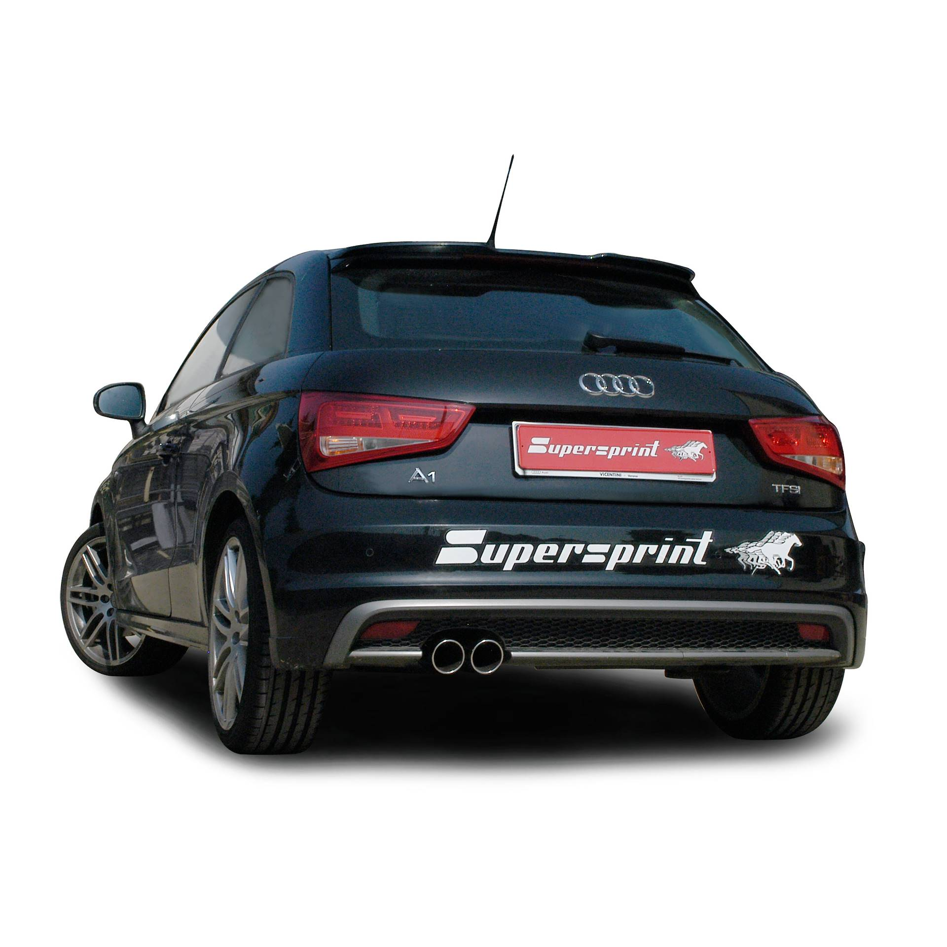 audi a1 1 4 tfsi 3 porte sportback 185 hp 2010 2014 audi impianti di scarico. Black Bedroom Furniture Sets. Home Design Ideas