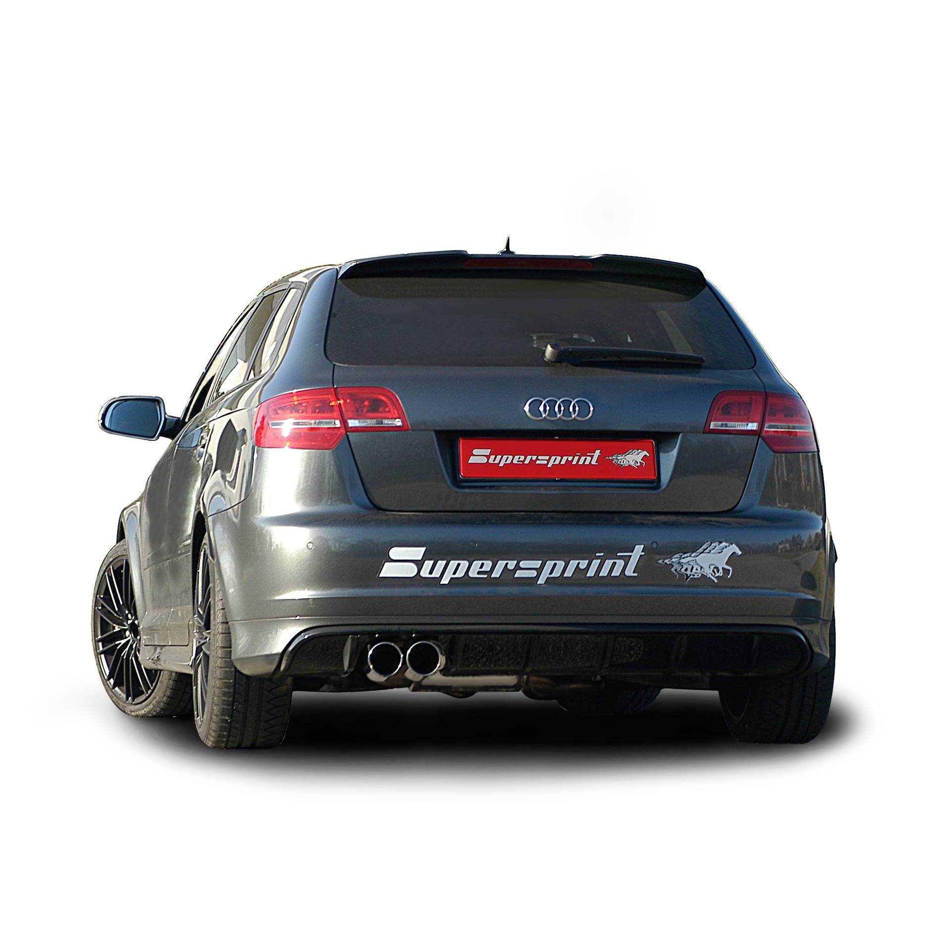 audi a3 rs3 sportback quattro 2 5 tfsi 340 hp 2011 supersprint full exhaust official videos. Black Bedroom Furniture Sets. Home Design Ideas