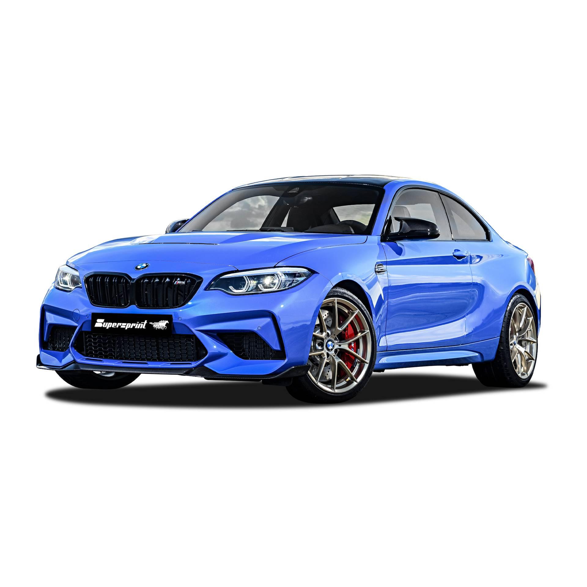 Sportauspuff Anlage Für BMW F87 M2 CS OPF Mit Klappe, BMW