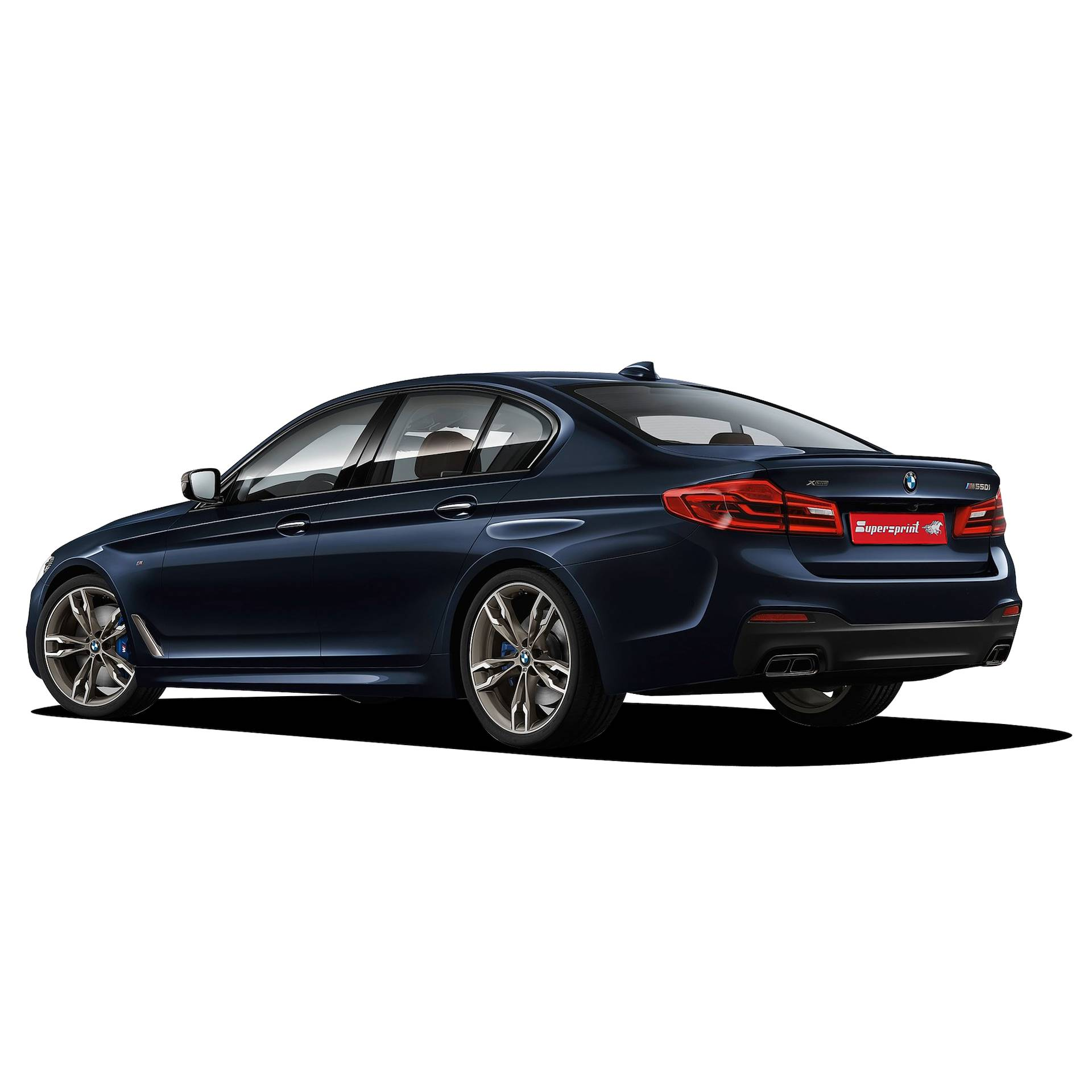 BMW G30 M550i xDrive (4.4L V8 - 530 Hp - models with OPF) 2019 ->