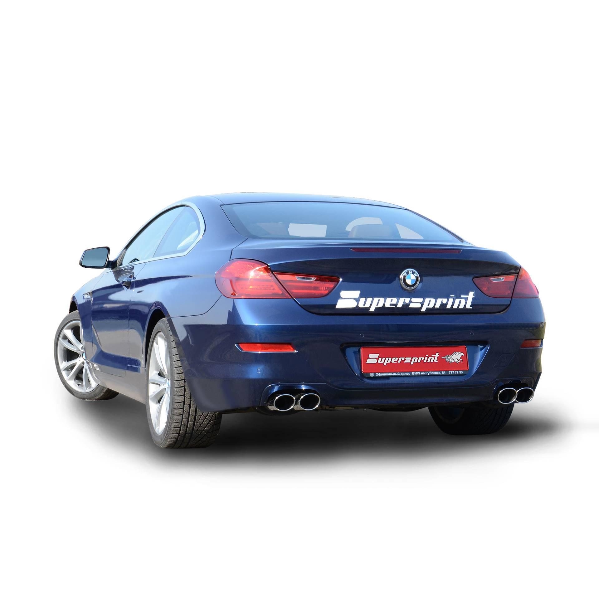 Bmw Xdrive 650i: BMW F12 / F13 640i 2011 ->, BMW, Exhaust Systems