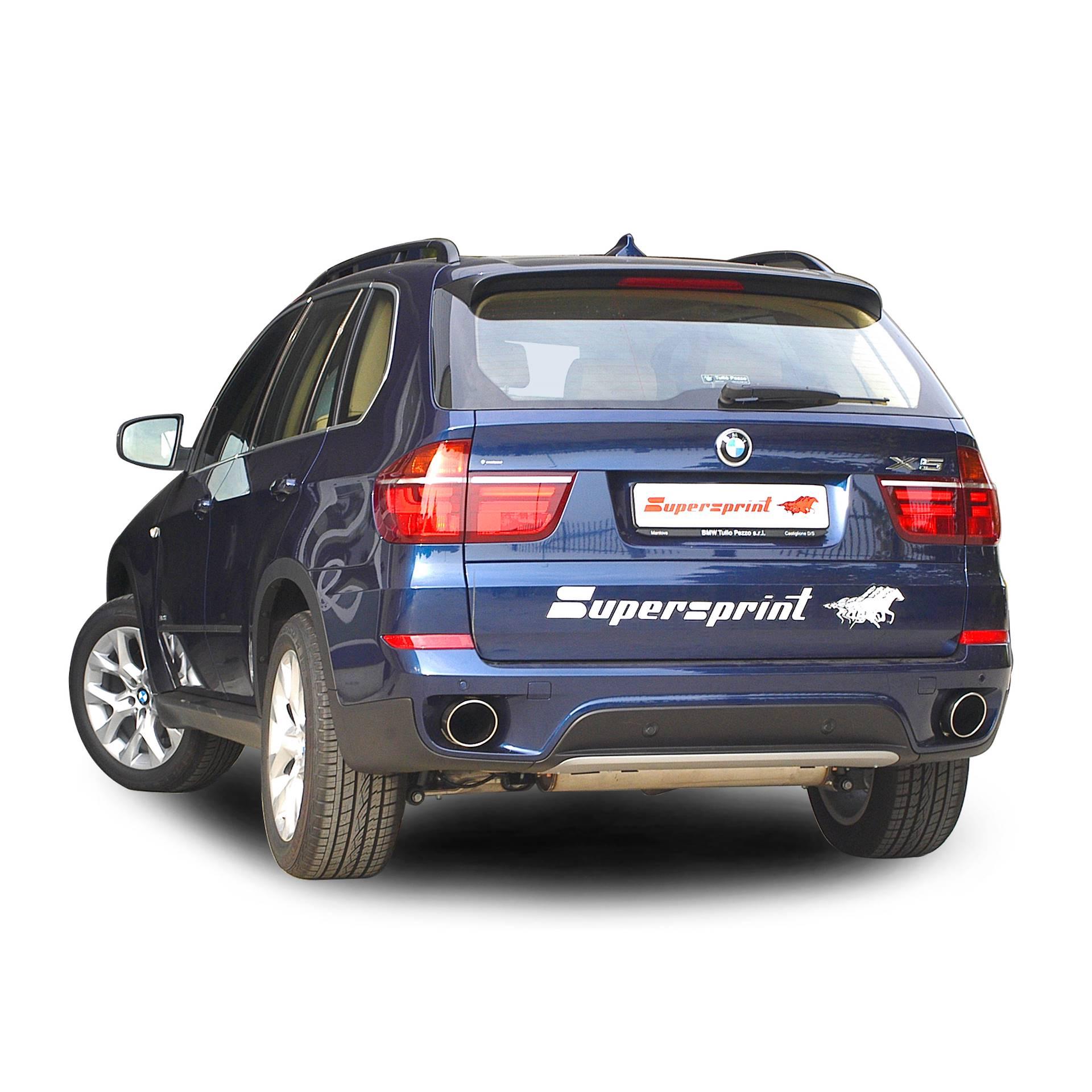 Bmw X5: BMW E70 X5 LCI 30dX 2009 -> 2013, BMW, Exhaust Systems
