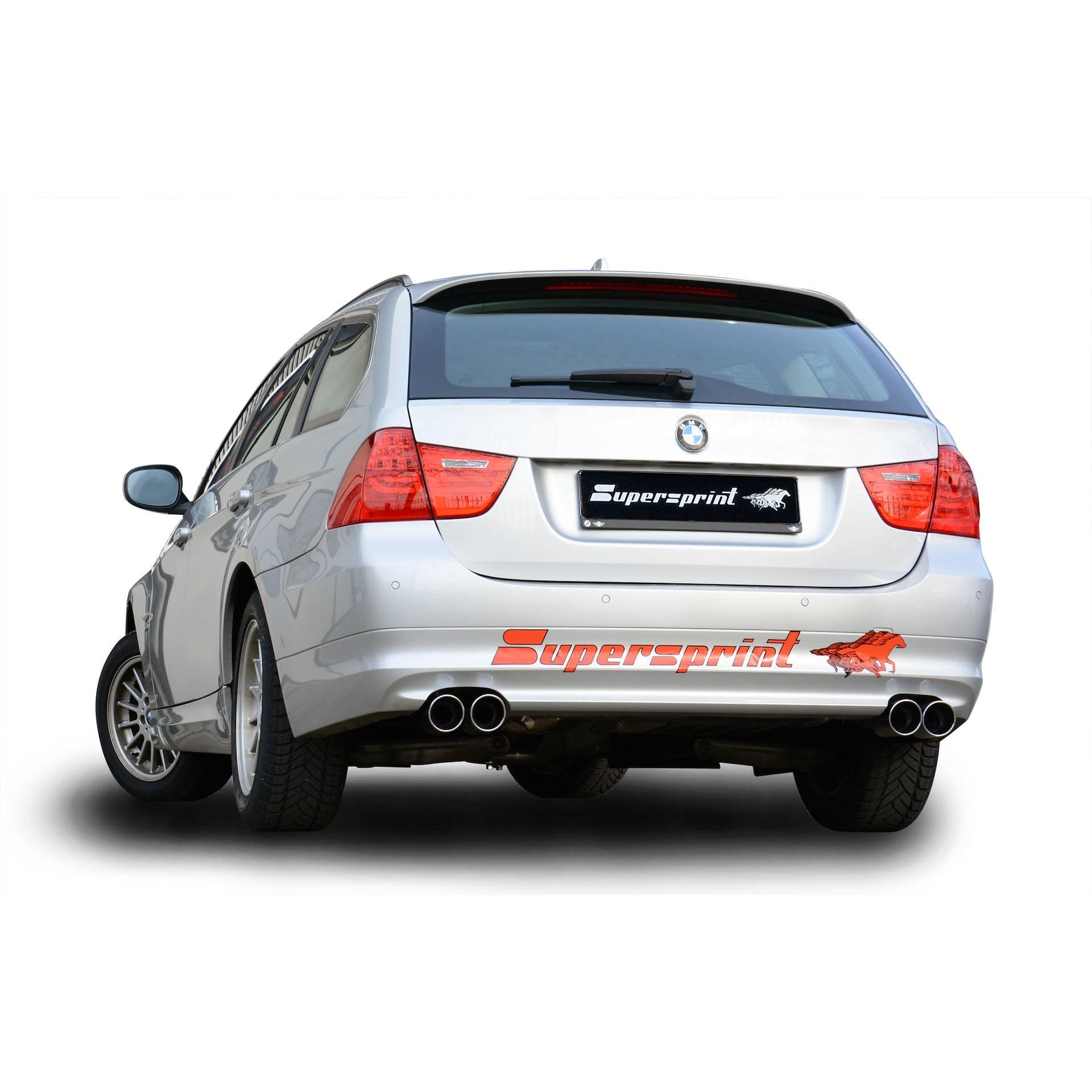 2008 Bmw 335xi Price: Performance Sport Exhaust For BMW E91 Touring 325i / 325xi