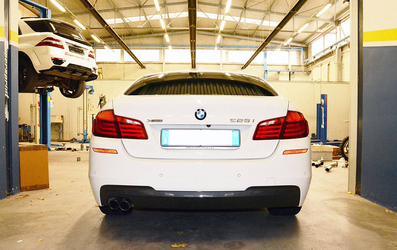Stock exhaust BMW F10 / F11 528i
