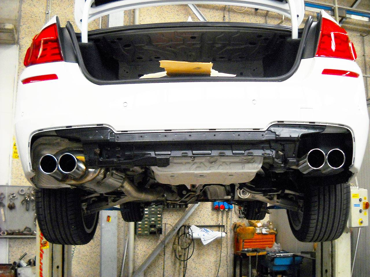 Supersprint rear exhausts right-left OO90 982956-982976