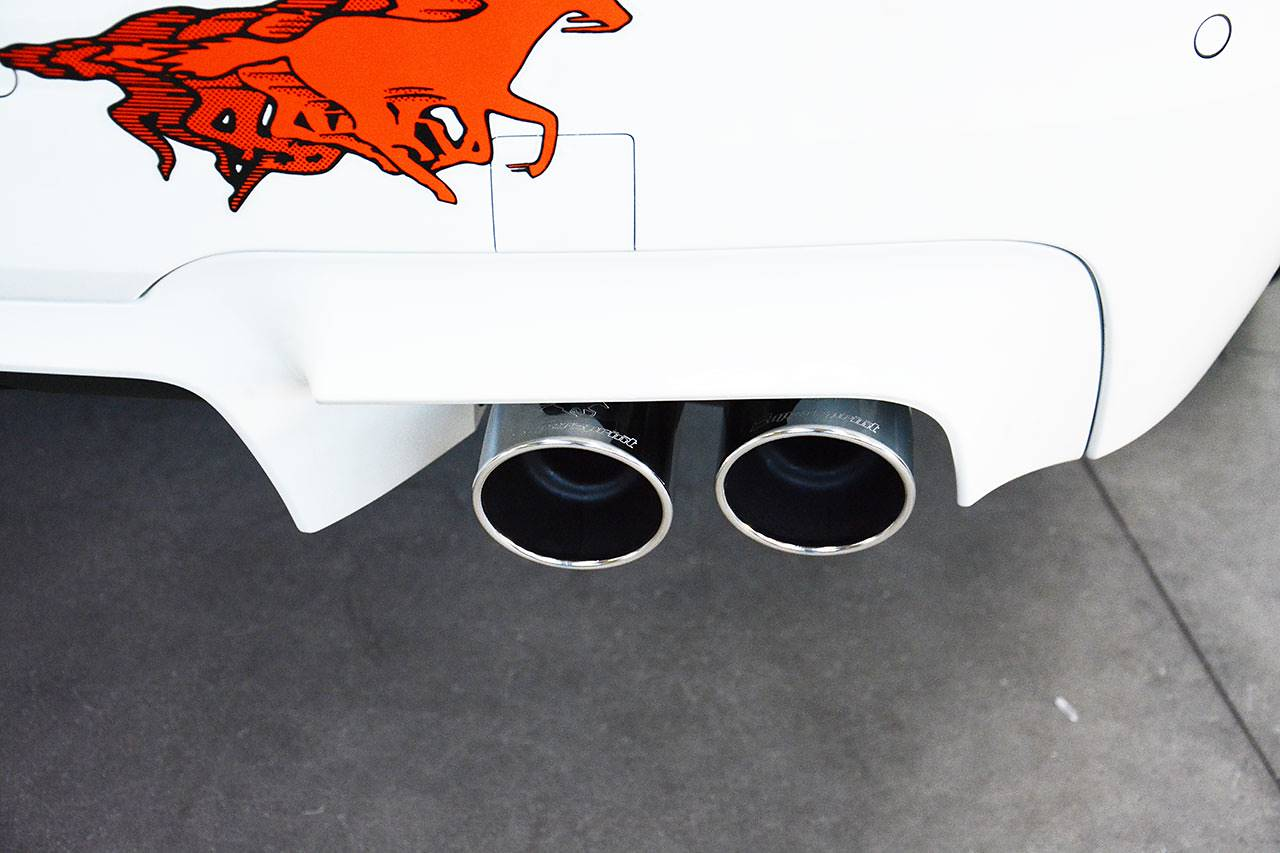 Detail of Supersprint rear exhaust right OO90 982956