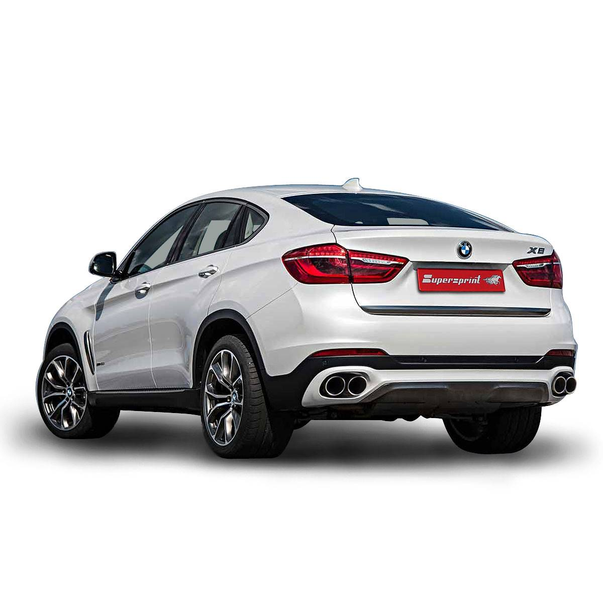 Performance Sport Exhaust For Bmw F16 X6 40d From 2014