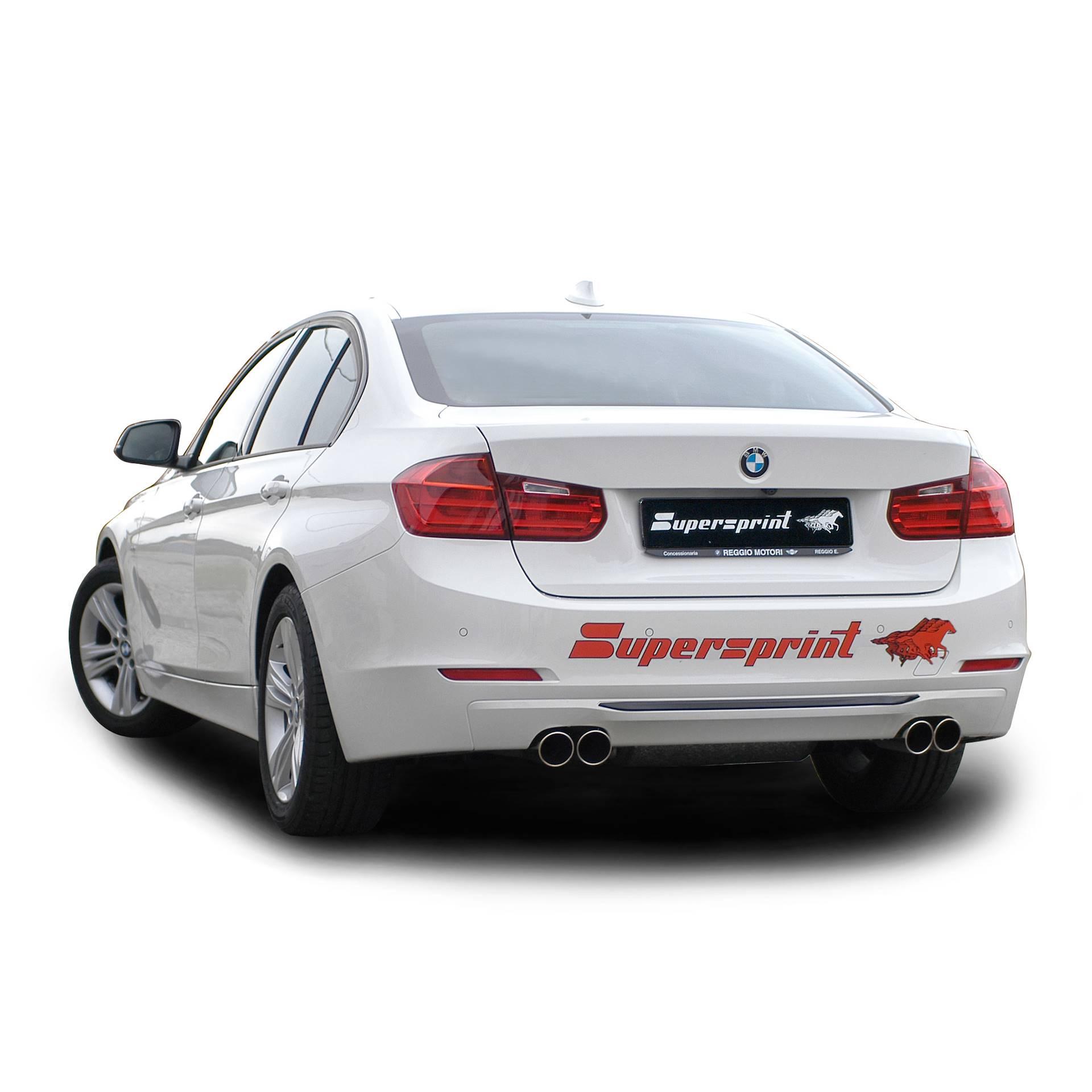 Performance sport exhaust for BMW F30 328i, BMW F30 (Sedan