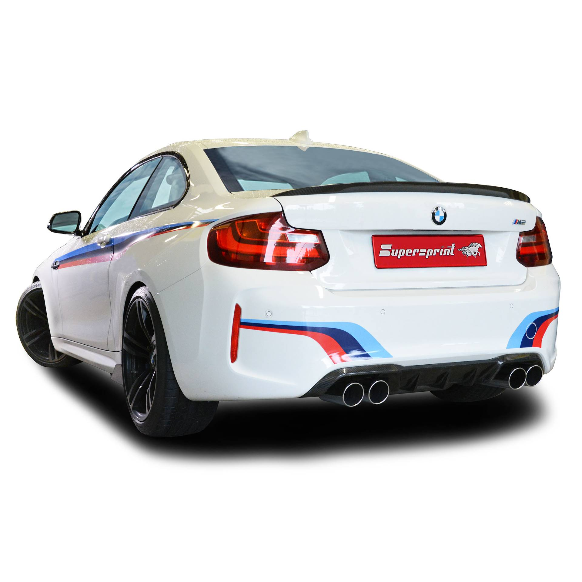 "BMW M - BMW F87 M2 Coupé (370 Hp) 2016 -> ""TWIN PIPE DESIGN"""