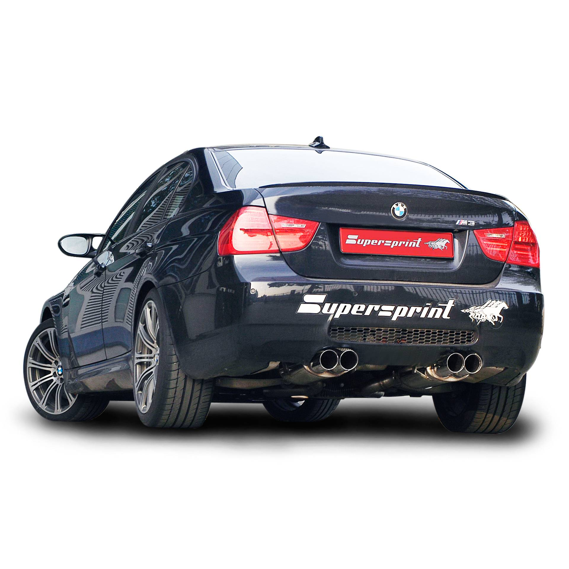 Bmw M3: Performance Sport Exhaust For BMW M3 E90 Supercharger, BMW