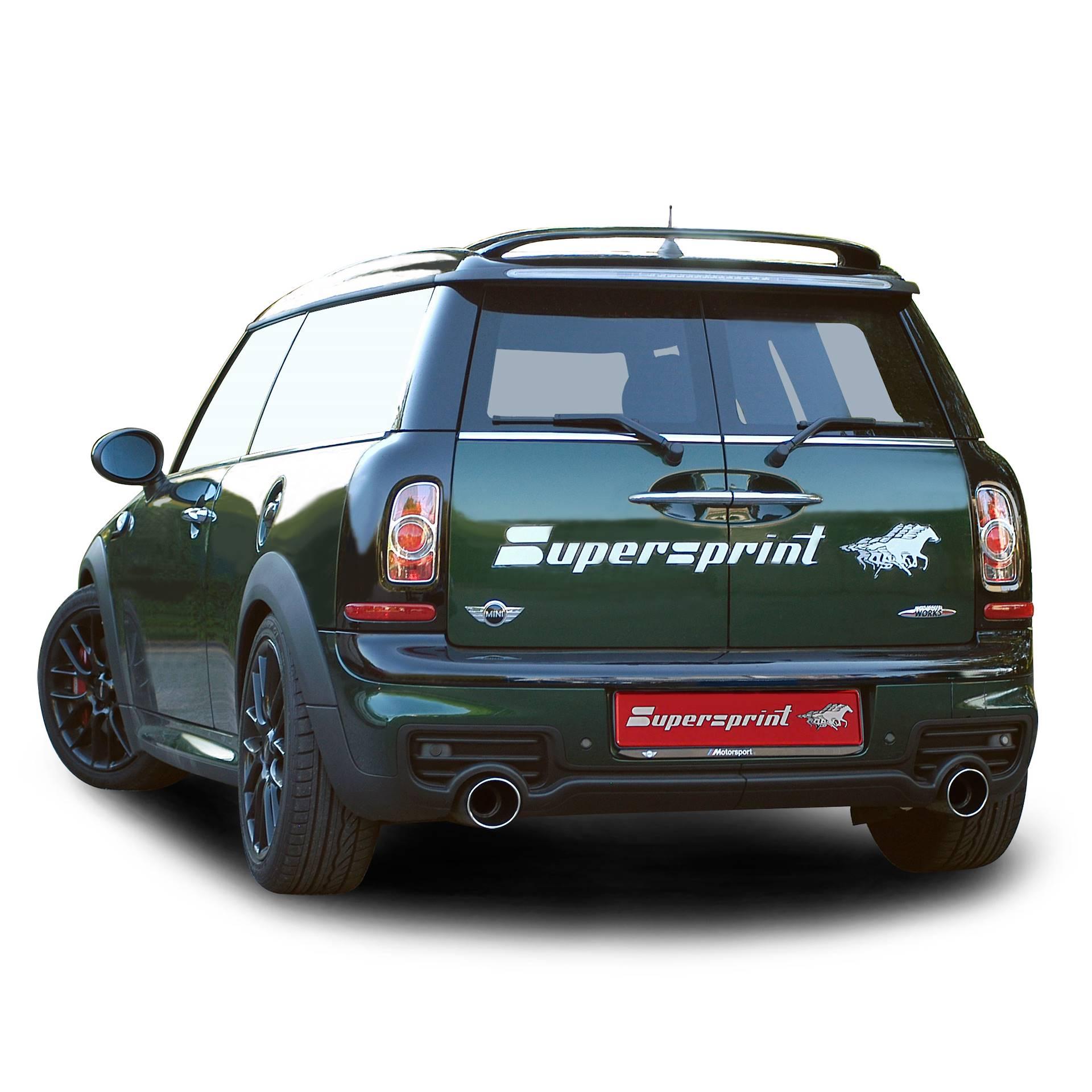 Performance Sport Exhaust For Mini R55 Cooper S Clubman Jcw Mini
