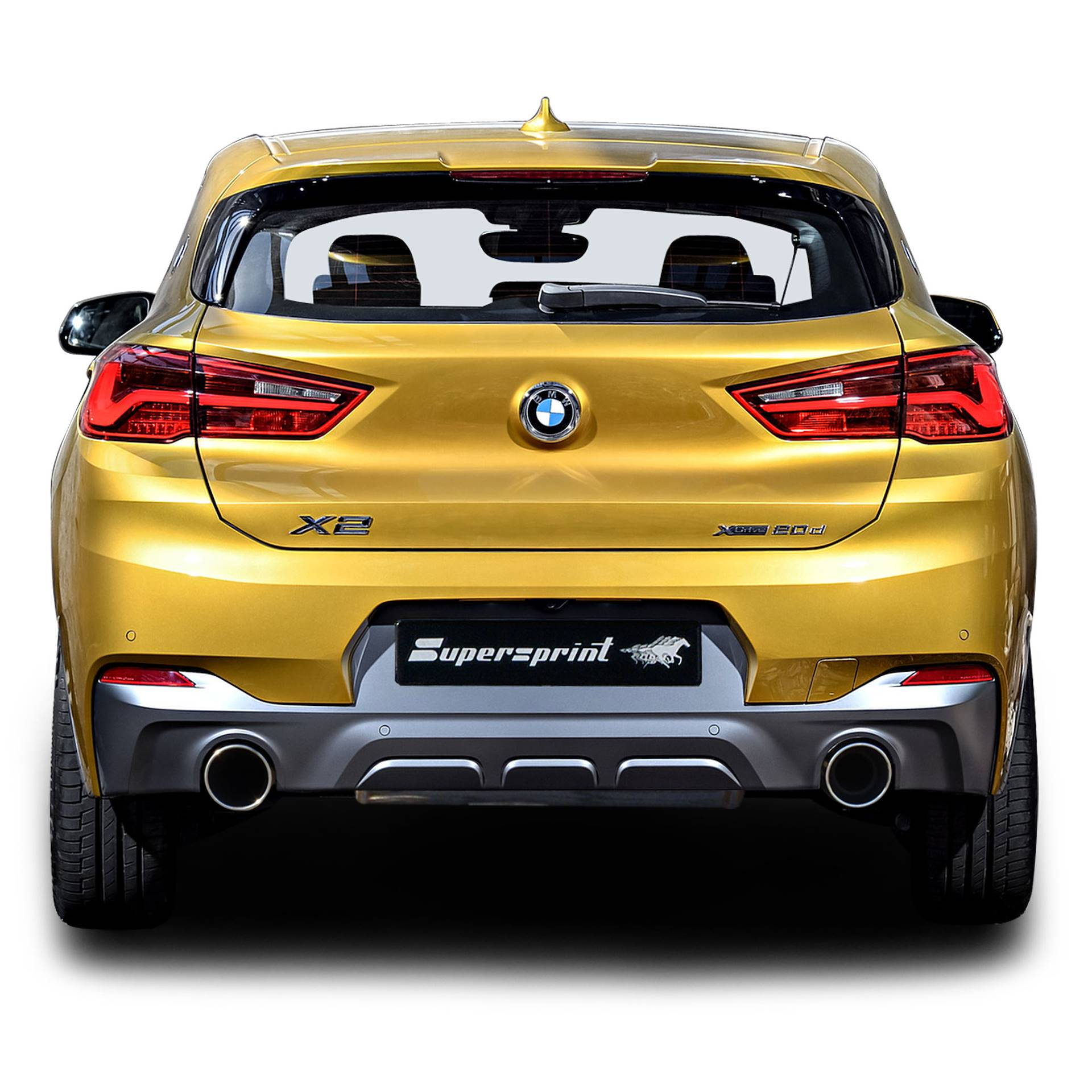 Bmw X2 M Sport 2018 3d Model: New Sport Exhaust For Polo 6R 1.8 TSI 2015 192 Cv, 2015