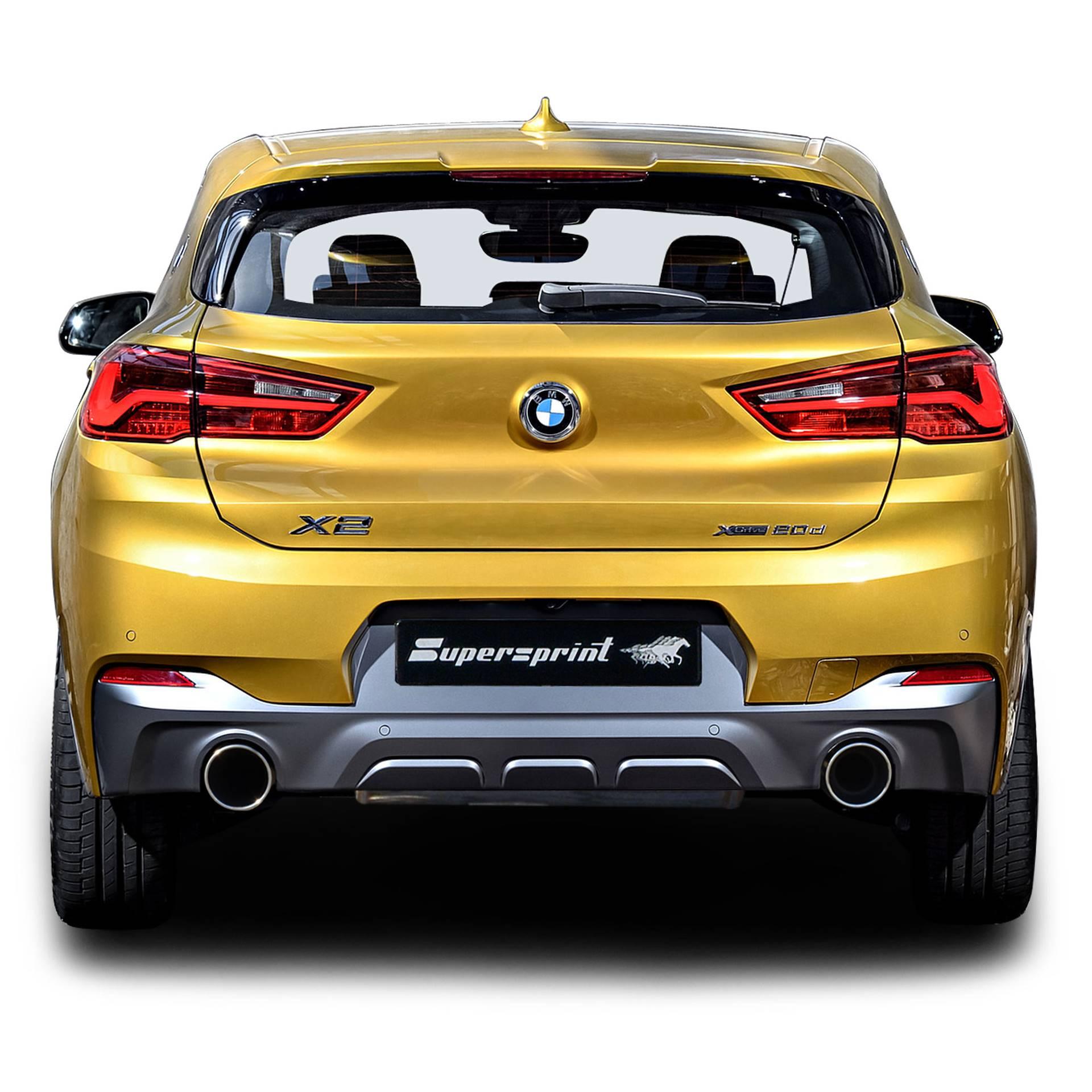 Bmw Xdrive 28i: Système D'échappement Sportif Pour BMW X2 25d XDrive 231