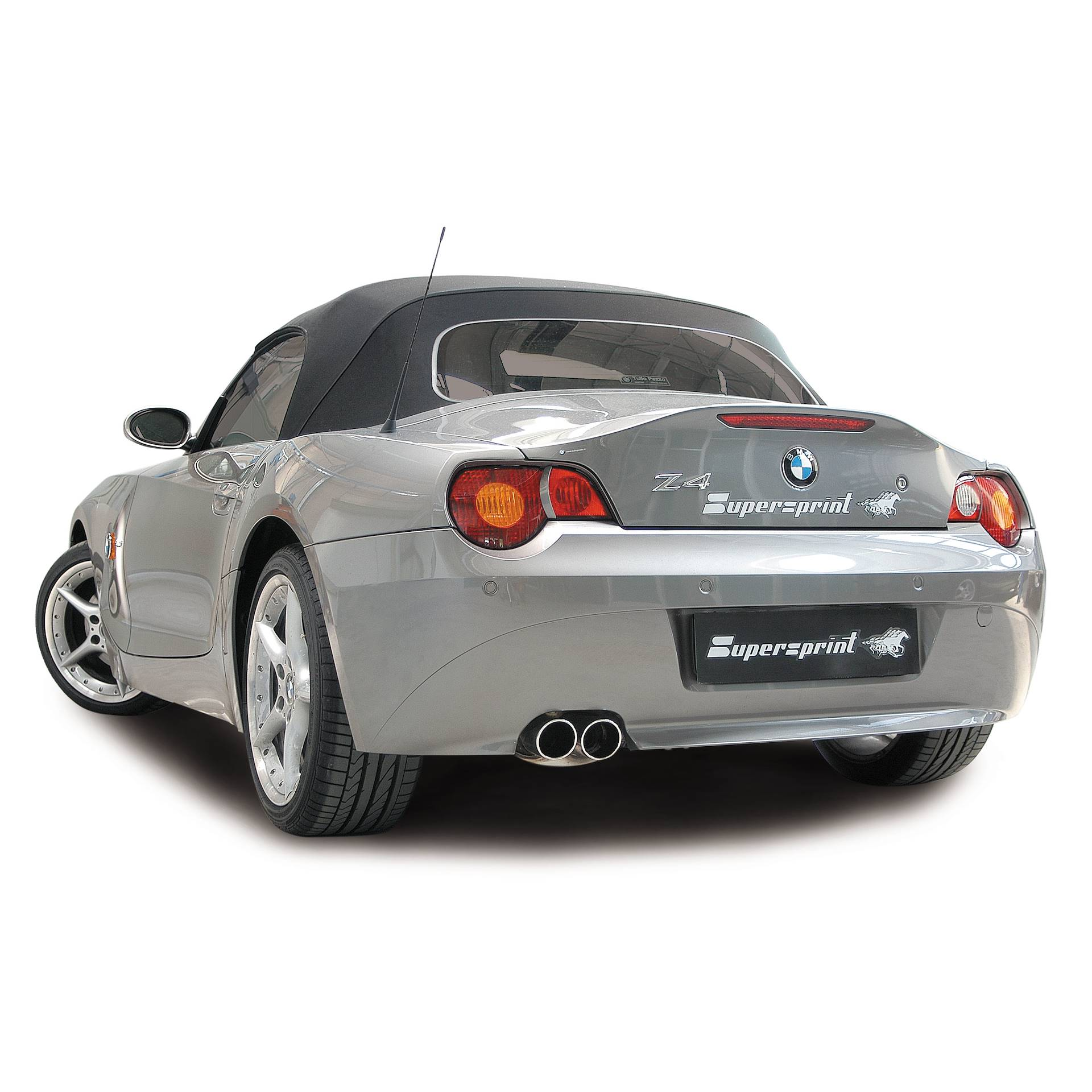 Bmw Z4 Convertible: Performance Sport Exhaust For BMW Z4 Roadster Left Hand