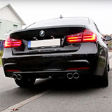 Supersprint exhaust system for BMW 320d F30