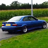 Supersprint exhaust system for BMW M3 E36