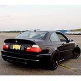 "BMW E46 M3 3.2i sound con posteriore ""Lightweight"" Supersprint"