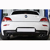 BMW Z4 E89 20i sound with Supersprint cat-back exhaust system