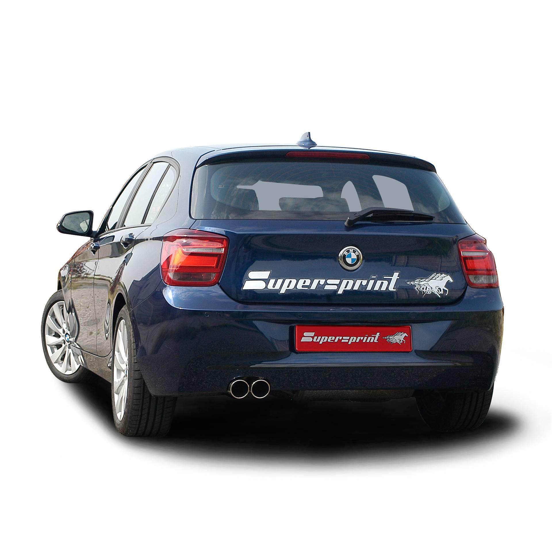 Bmw 125i: BMW F20 125i 2.0T (218 Hp) 2012 -> Impianto Di Scarico