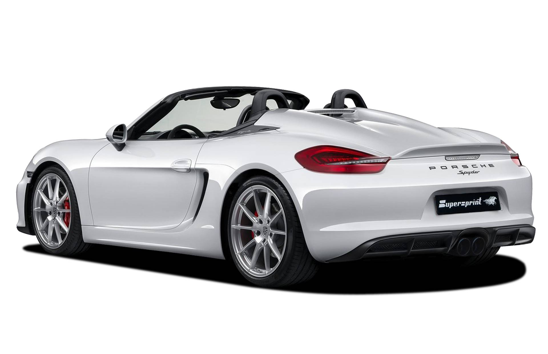 Supersprint udstødning til Porsche 981 Boxster Spyder