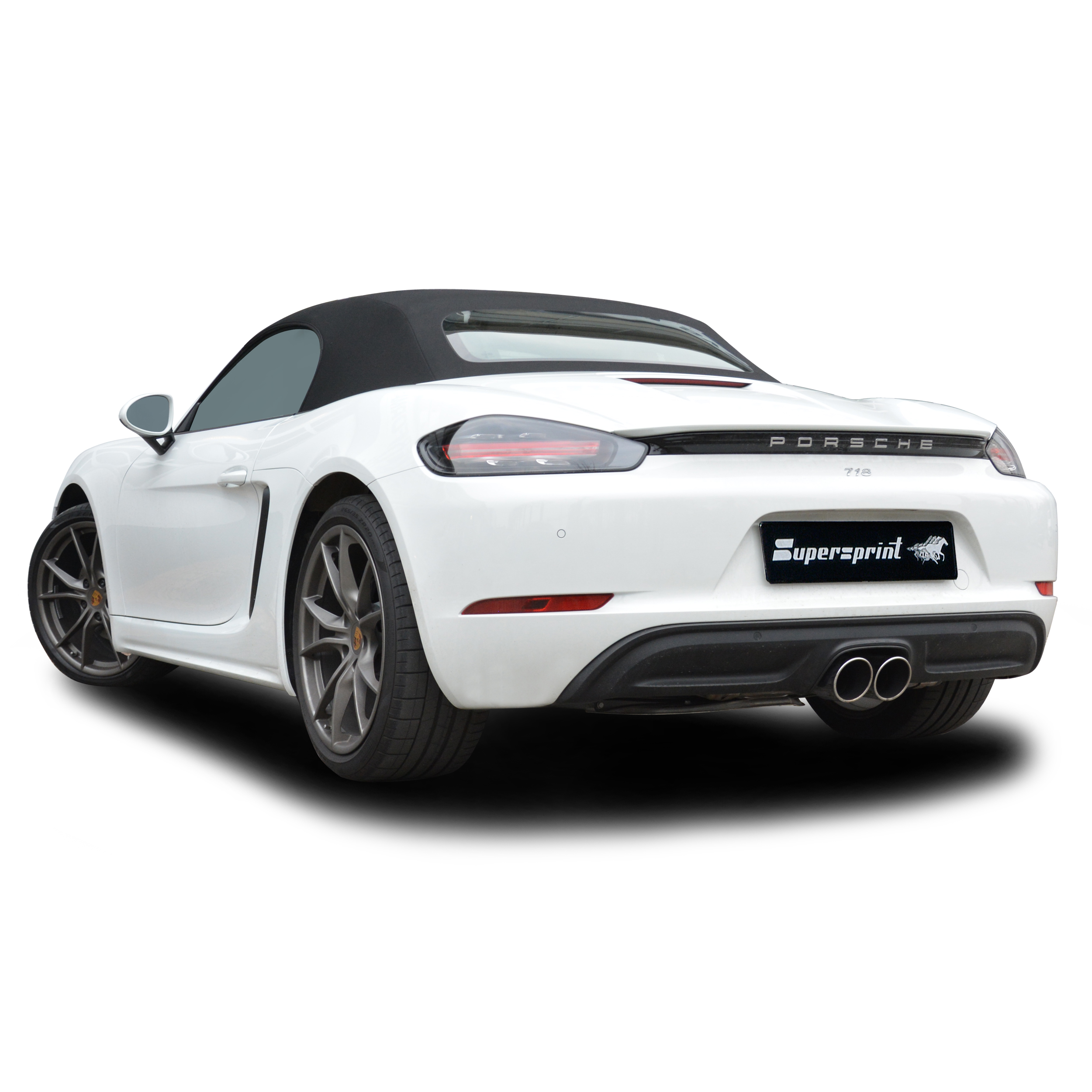 Performance Sport Exhaust For Porsche 718 Boxster S With