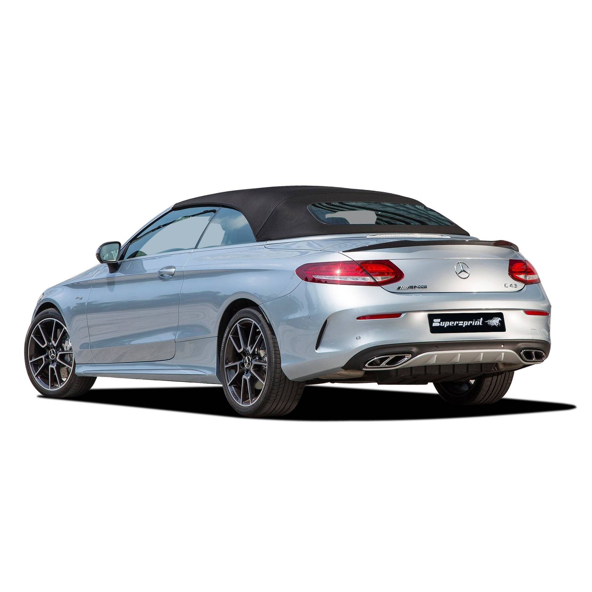 Performance sport exhaust for MERCEDES A205 C43 AMG