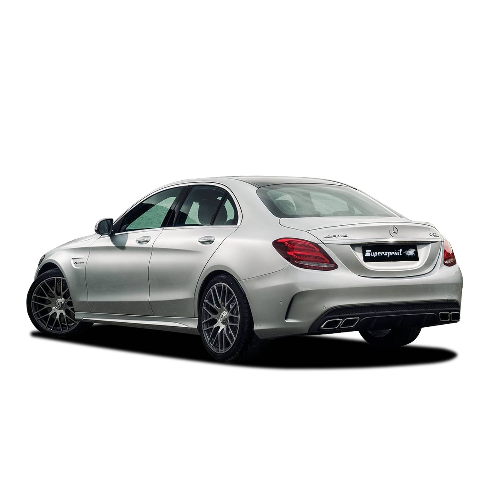 Performance sport exhaust for MERCEDES W205 C63 AMG, MERCEDES W205