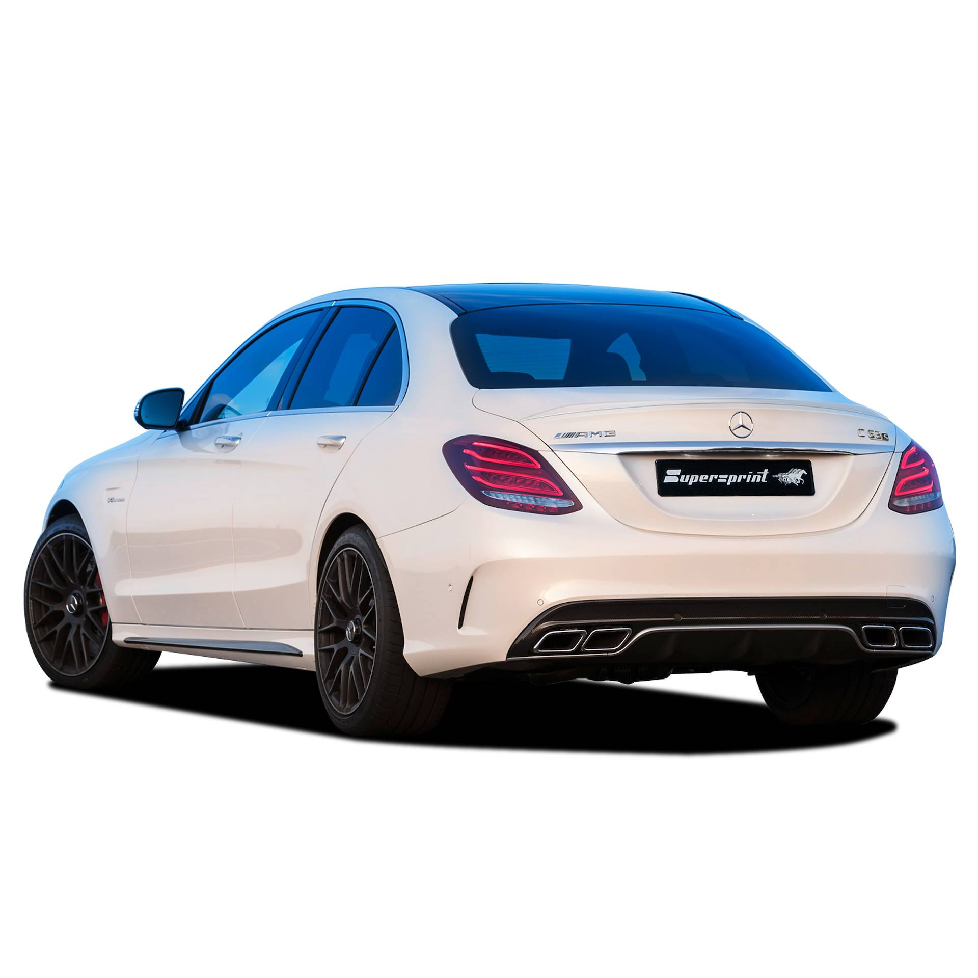 Performance Sport Exhaust For Mercedes C63 S AMG 4-Matic